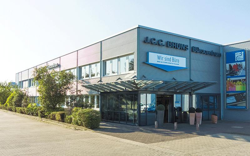 Bruns Bürocentrum: Ladengeschäft öffnet wieder
