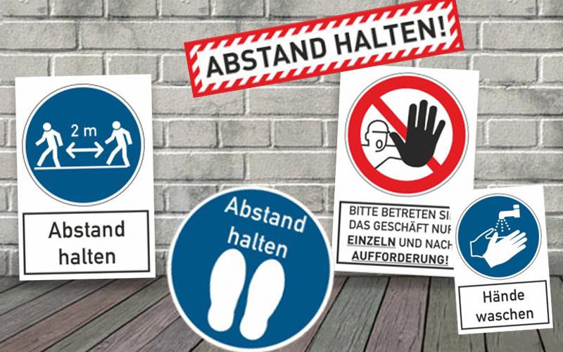 Warnschilder und Aufkleber für Ihre Sicherheit