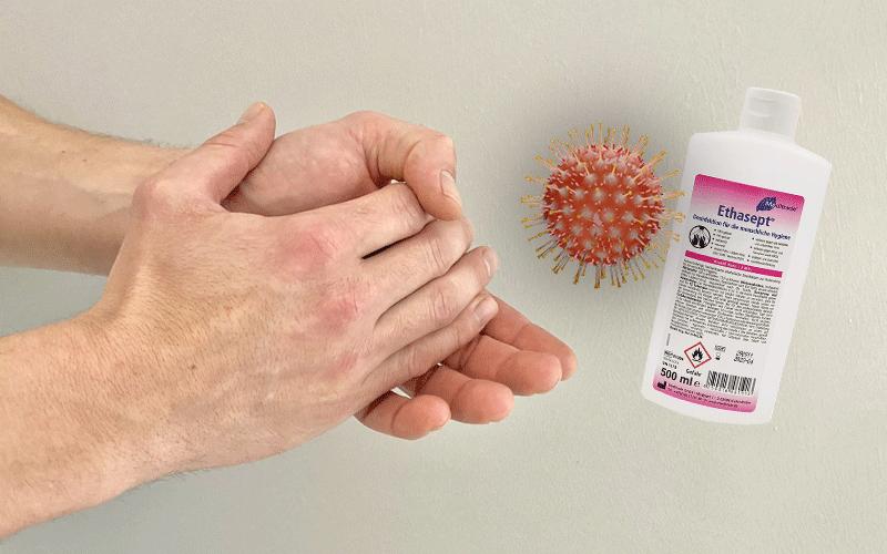 Handdesinfektionsmittel - Ein wichtiger Begleiter
