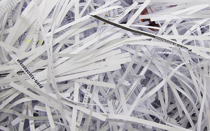 Welcher Aktenvernichter vernichtet meine Daten datenschutzkonform?